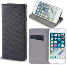 Huawei y6s - smart magnet flip case mobilplånbok - svart