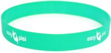 Easypisi - Anti-Rutsch Silikonband - für Windelfrei Töpfchen mit Spritzschutz - Grün