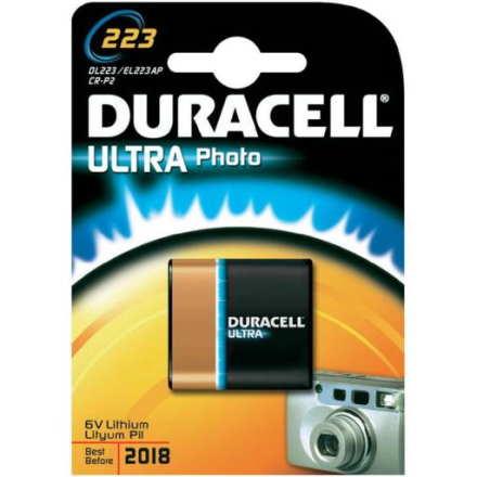 Duracell Photo Ultra 223 Lithium Batteri - 1 stk.