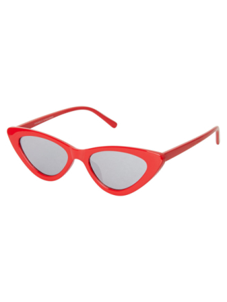 PIECES Cateye Sunglasses Women Red
