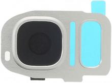 Skyddande Kamera lins till Samsung Galaxy S7 & S7 Edge - Silver