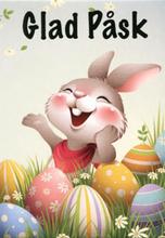 Mini kort - glad påsk