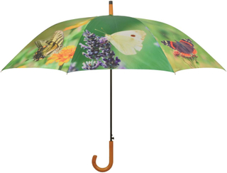 Esschert Design Paraply Butterflies 120 cm TP211