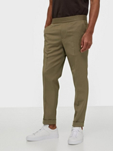 Filippa K M. Terry Cropped Trouser Housut Taupe