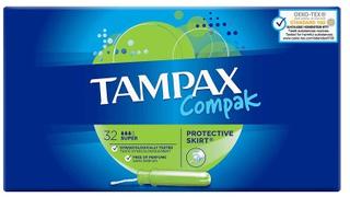 Tampax Compak Super 32 stk
