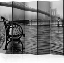 Rumsavdelare - A Foggy Day on the Brooklyn Bridge II - 225x172