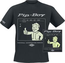 Fallout - Pip-Boy -T-skjorte - svart
