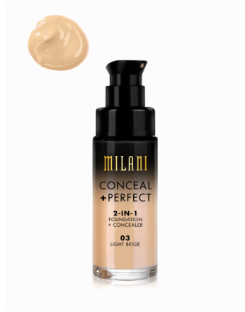 Milani Conceal & Perfect Liquid Foundation Light Beige