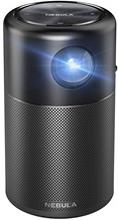 Nebula Capsule projektor med indbygget højtaler og batteri
