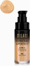 Milani Conceal & Perfect Liquid Foundation Sand Beige