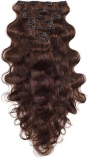 Rapunzel Of Sweden Clip-On Set Body Wave 60cm Chocolate Brown