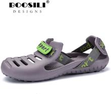 2019 Sale Real Brand Fashion Sandals Eva Clogs Swimming Shoes Men Croc Band Summer Water Black White Air Beach Garden Mens Shoe