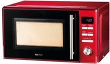 Vega 7541 - microwave oven with grill - freestanding - chilli red