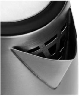 Elkedel Fashion Steel - kettle - brushed steel - Børstet stål - 1785 W