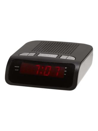 DAB bærbar radio CR-419MK2 - clock radio - FM - Sort