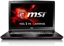 MSI GE72 6QC-047NE 17.3 Bärbar dator (svart) - OBS Fyndklass 3