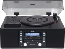 LP-R550USB - audio system Pladespiller - Sort