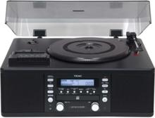 LP-R550USB - audio system Skivspelare - Black