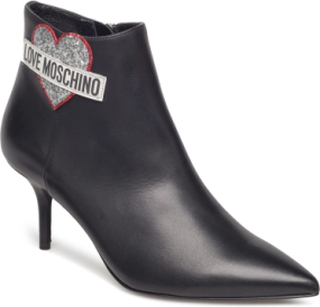 Love Moschino Ankle Boot Shoes Boots Ankle Boots Ankle Boots With Heel Sort Love Moschino