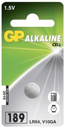 GP BATTERIES Knappcellsbatteri 389 / 390 / AG10 / LR54 / LR1130 GP 102004 Replace: N/AGP BATTERIES Knappcellsbatteri 389 / 390 / AG10 / LR54 / LR1130 GP