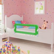 vidaXL Sängskena för barn 2 st grön 102x42 cm