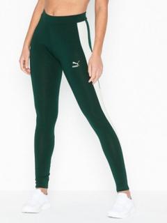 Puma Classics Logo T7 Legging Mørk grønn