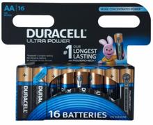 Duracell AA Duralock Ultra 16 kpl