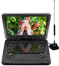 """HKC-D12HBDT Bærbar DVD-afspiller med indbygget tv-tuner - 12 """""""