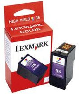 Lexmark bläckpatron 35 trefärg 18C0035