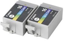 Canon bläckpatron BCI-16CL trefärg 2-pack 9818A002