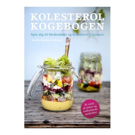 Kolesterolkogebogen Forfatter: Anette Harbech Olesen, 1 stk