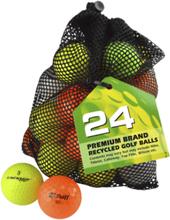 Second Chance 24 Mixed Color Lake Balls Golfpallot OPTIC