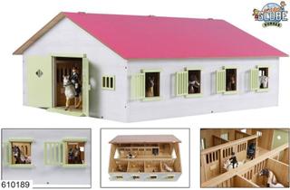 Kids Globe Horse stable 7 Boxe - Gård og dyr 610189