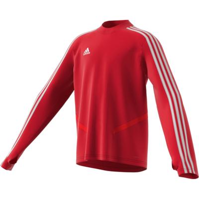 8b8bdea86 Rød Adidas Genser Junior Treningsgenser til den aktive Treningsgenser til  den aktive. Transporterer fuktighet bort fra kroppen når man er i ...
