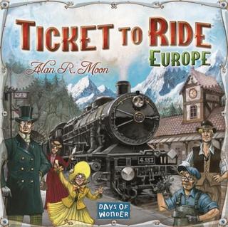 Ticket To Ride, Europe, Sällskapsspel