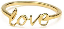 Snap Ring Love Gold