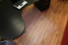 Lyla golvskydd kontor 100x140 cm - frostig