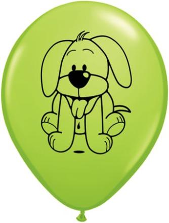 Kramdjur blandade ballonger - 28 cm latex - 25 st