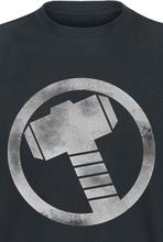 Thor - Hammer -T-skjorte - svart