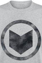 Avengers - Hawkeye Symbol -T-skjorte - gråmelert