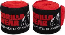 Gorilla Wear Boxing Hand Wraps - Rød