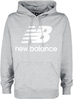 New Balance - Essentials Stacked Logo Hoodie -Hettegenser - grå