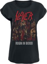 Slayer - Reign In Blood -T-skjorte - svart