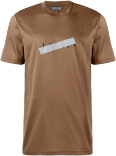 Lanvin Lanvin brons reflekterande Cross T-Shirt