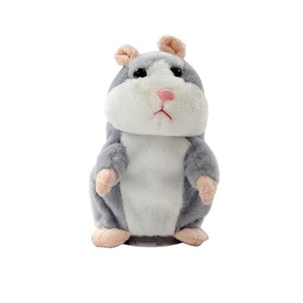 Mitrotrading Talande Hamster - Grå