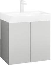 Svedbergs Skapa Tvättställsskåp vit, 55 x 35 cm