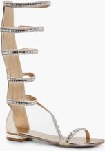 Brooke Embellished Gladiator Sandal