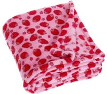 Playshoes Fleece-viltti 75x100cm mansikka vaaleanRED - punainen - Gr.70x100 cm