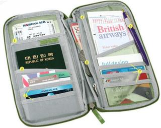 Resväska - håll ordning på ditt pass och papper under resan