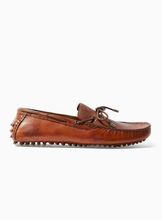 Tan Monaco Leather Driver Shoes